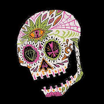 Day of the Dead Skull by jasoncastillo
