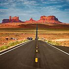 MONUMENT VALLEY – HIGHWAY 163 SCENIC DRIVE by Philippe Rikir