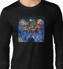 Christmas Carol-muppets Long Sleeve T-Shirt