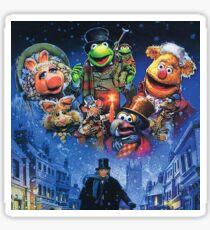 Christmas Carol-muppets Sticker