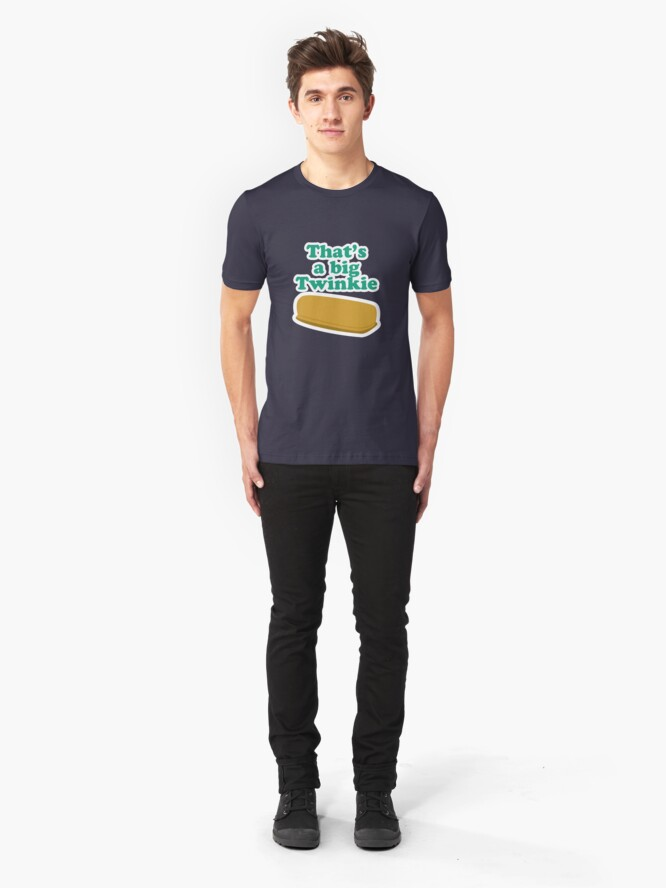 Alternate view of That's a big Twinkie... Slim Fit T-Shirt