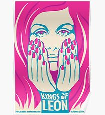 Kings of Leon Tuscaloosa Amphitheater October 23, 2017 Poster