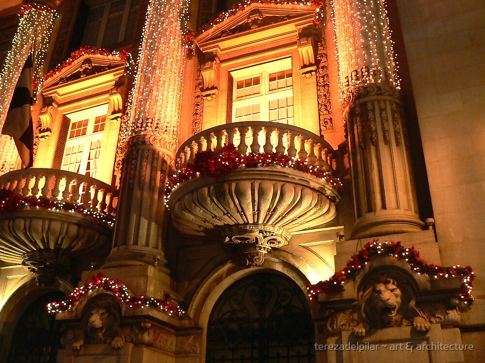 Christmas in town by terezadelpilar ~ art & architecture