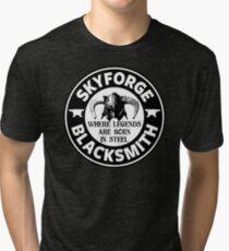 Skyforge - Where Legends Are Born In Steel Tri-blend T-Shirt