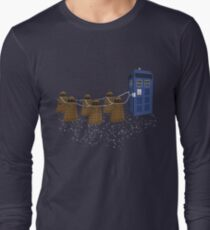 The Doctor's Sleigh Long Sleeve T-Shirt