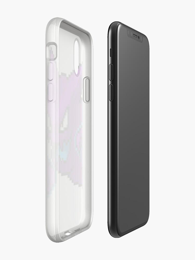 Vista alternativa de Funda y vinilo para iPhone Shiny Haunter Sprite