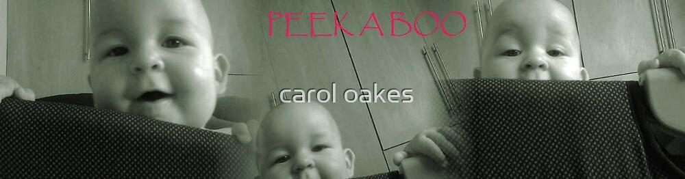 PEEK A BOO I SEE YOU!! by carol oakes