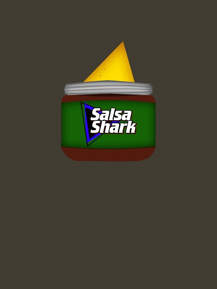 Salsa Shark by brianftang