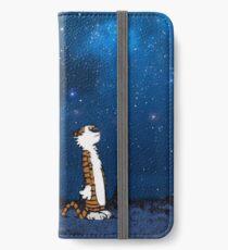 Calvin Hobbes Galaxy iPhone Wallet/Case/Skin