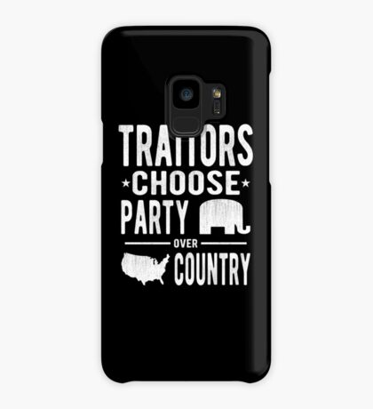 Traitors Party over Country Case/Skin for Samsung Galaxy