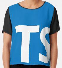 typescript Chiffon Top