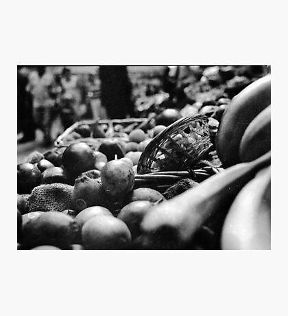 Fruit & A Basket Photographic Print
