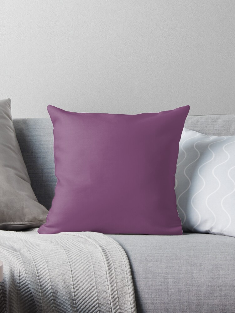 Grape Purple Throw Pillows By Koovox Redbubble