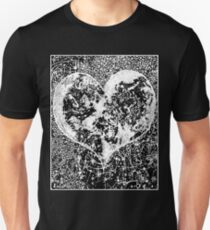 """Love Yourself"" Heart shaped world, Ink 1990 Unisex T-Shirt"