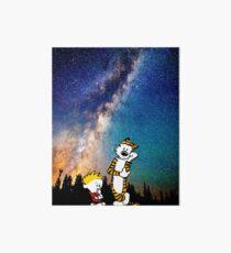 Calvin Hobbes Cosmics Art Board