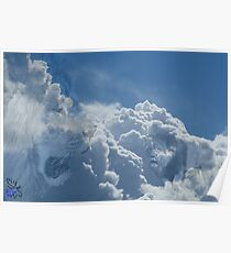 Ominous storm clouds Poster