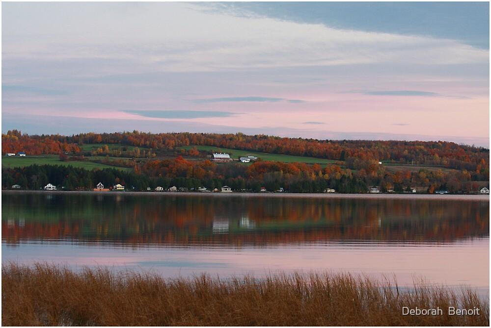Lake Carmi Early Evening by Deborah  Benoit