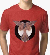 Hawk Circle Tri-blend T-Shirt