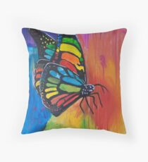 'Layla's Butterfly' by Layla Pilgrim (2016) Throw Pillow