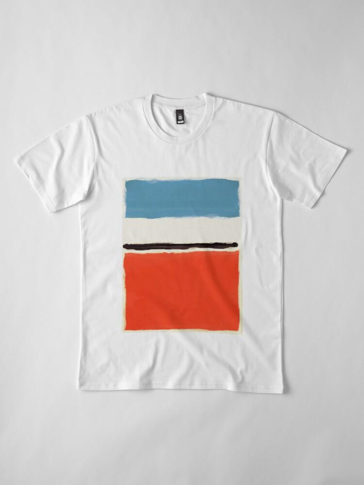 Alternative Ansicht von Weiße Mitte Premium T-Shirt
