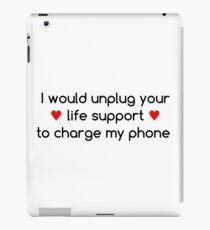 Life Priorities (Red Hearts) iPad Case/Skin
