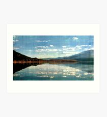Kootenai Lake, British Columbia Art Print