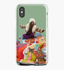 janis on her psychedelic porsche iPhone Case