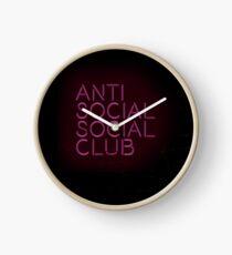 Anti social social club... Clock