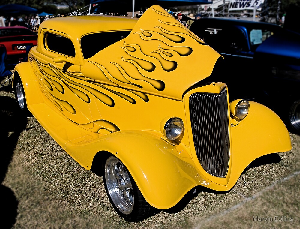 1930's Era Ford Hotrod by Marvin Collins