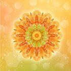 Blossomy Mandala - I AM creative von Gaby Shayana Hoffmann