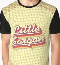 Little Saigon | Retro Rainbow Graphic T-Shirt