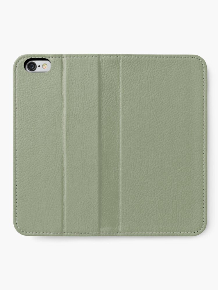 Alternative Ansicht von Flechtengrün iPhone Flip-Case