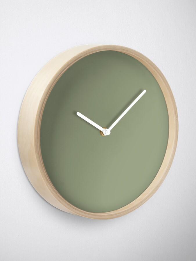 Alternative Ansicht von Flechtengrün Uhr