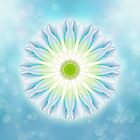 Blossomy Mandala - I AM in Balance von Gaby Shayana Hoffmann