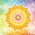 Blossomy Mandala - I AM Love and Light von Gaby Shayana Hoffmann