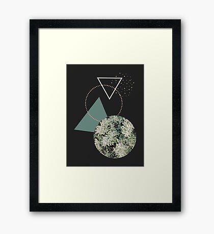Hello Winter #redbubble #decor #winter Framed Print