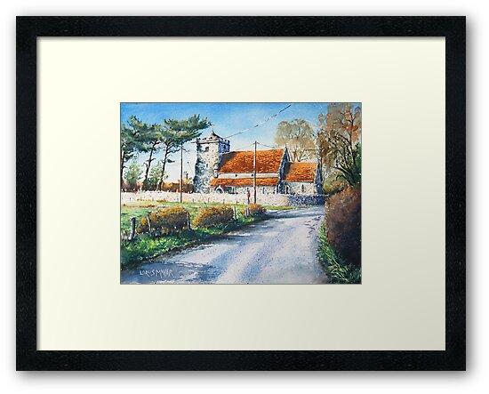Beddingham Church (Sussex) by LorusMaver