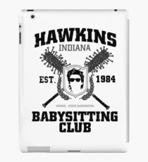 Hawkins Babysitting Club : Inspired by Stranger Things iPad Case/Skin