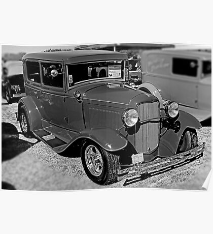 1931 Ford Model A Poster