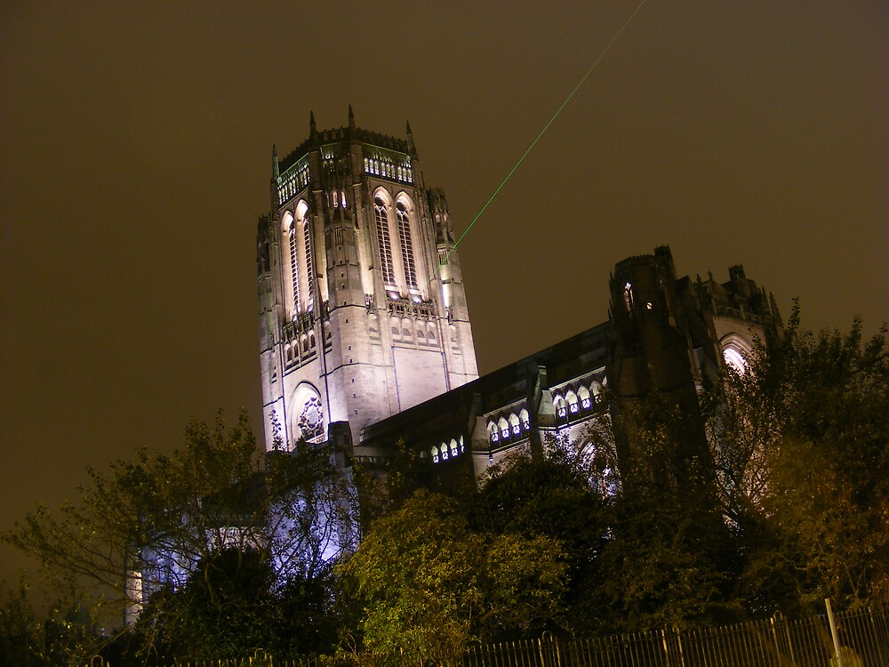 Liverpool Cathedral by Anthony Bradshaw