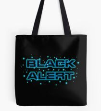 Star trek Discovery - Black Alert Tote Bag