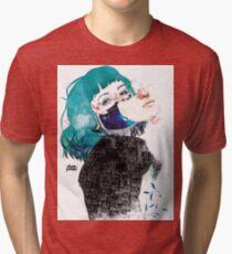 If you shut me up by elenagarnu Tri-blend T-Shirt