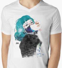 If you shut me up by elenagarnu Men's V-Neck T-Shirt