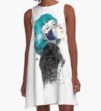 If you shut me up by elenagarnu A-Line Dress