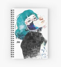 If you shut me up by elenagarnu Spiral Notebook