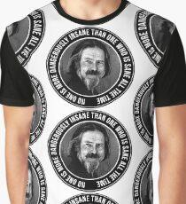 Alan Engraving Tribute Graphic T-Shirt