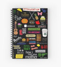 How I Met Your Mother Spiral Notebook
