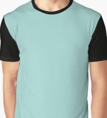 Blue Ground | Solid Colour Graphic T-Shirt