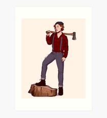 lumberhaught v1 Art Print