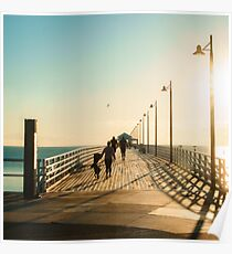 Shorncliffe Pier Life Poster